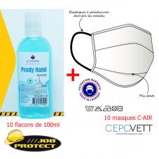 Kit Masque + Gel : AIR10GEL