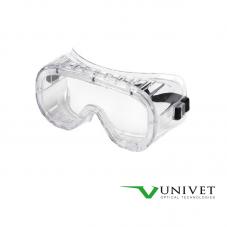 Masque lunette PVC incolore